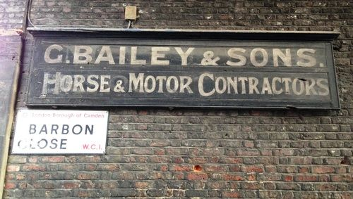 Leftover London — The resurrection of G Bailey & Sons