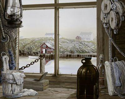 Newfoundland Art - Norman Bursey Gallery