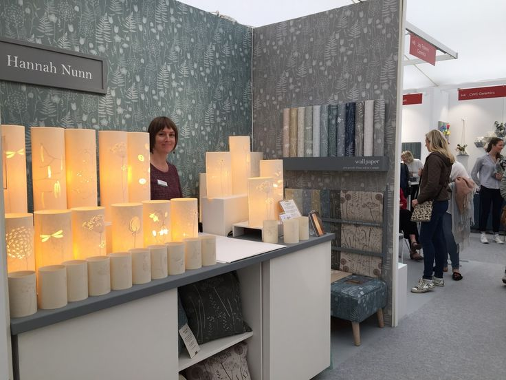 I'm Hannah Nunn, a designer/maker of lamps and shades and owner of Radiance, a lighting and craft boutique in Hebden Bridge, West Yorkshire, U.K. This blog is about my news, projects, thoughts, inspiration and other goings on....