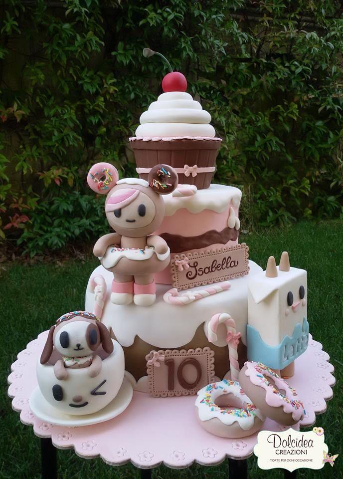 Torta Tokidoki - Tokidoki cake