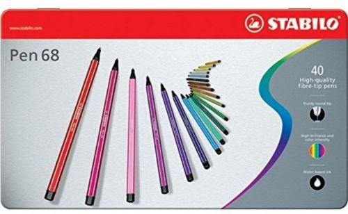 Water base marker #drawing coloring arts #odorless ink assorted pen 68 #colors,  View more on the LINK: 	http://www.zeppy.io/product/gb/2/281957564279/
