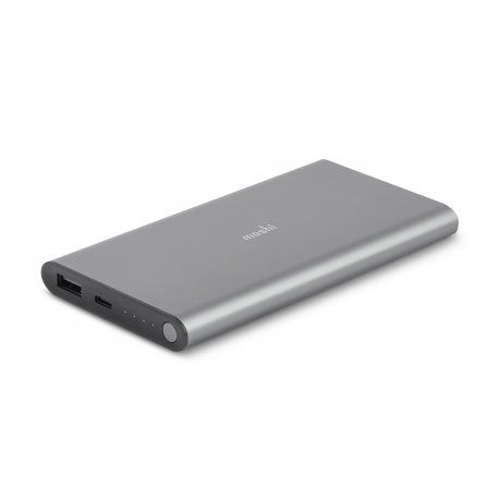 Baterie externa Moshi IonSlim 10.000 mAh Type-C, Fast Charge, USB-A