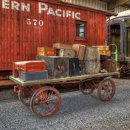 74 Best Baggage Carts Images On Pinterest Trains