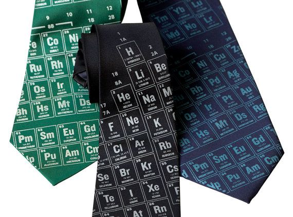 209 best periodic tables of everything images on pinterest science periodic table necktie scientific print tie science teacher gift chemistry teacher gift urtaz Images