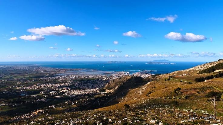 Panorama da Valderice | Foto Rosario Cusenza