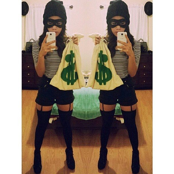 27 Sexy Halloween Costumes for 2016 | http://www.hercampus.com/life/27-sexy-halloween-costumes-2016 | Bank Robber Costume