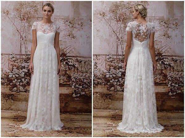 Fancy Ethereal wedding dress