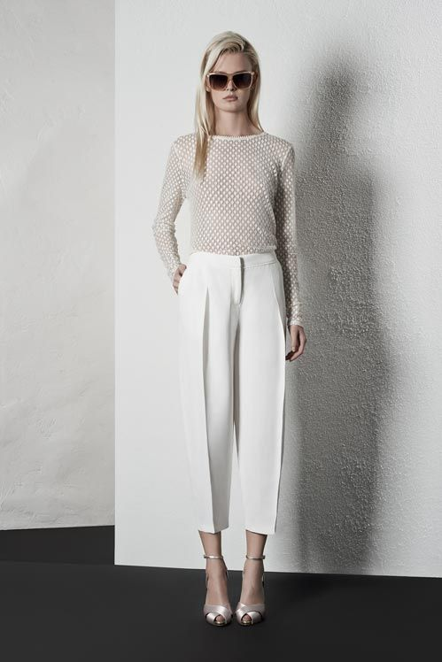 Reiss Spring Summer Womenswear Lookbook | Riviera | white on white #SS14