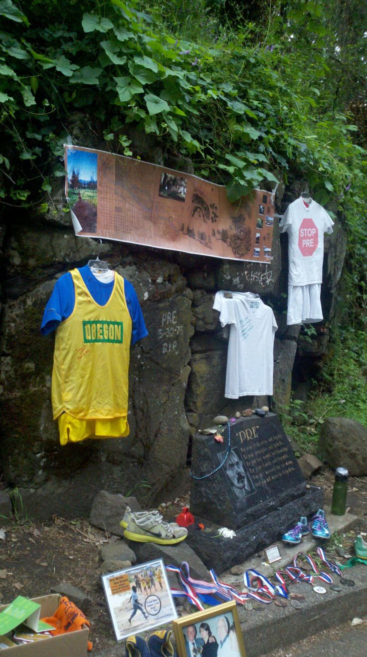mr1600:    Steve Prefontaine's Memorial during the 2012 USA Olympic Trials. Legends Never Die.