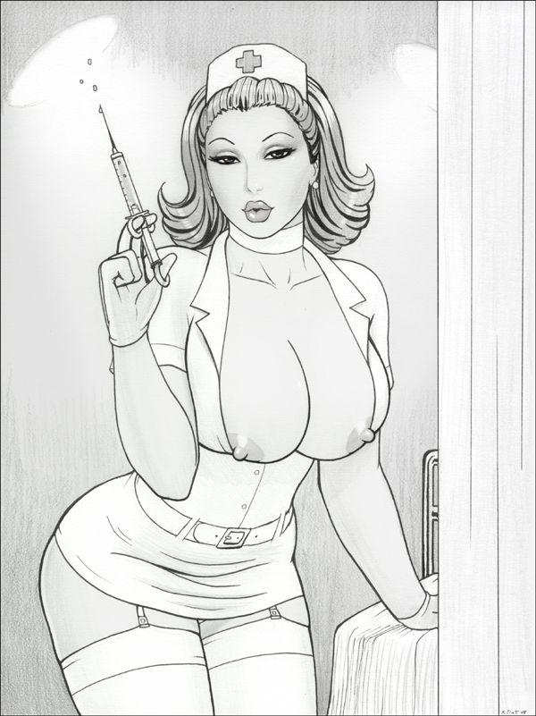 Sexy Nurse By Rplattdeviantartcom  Naughty Nurses -8248