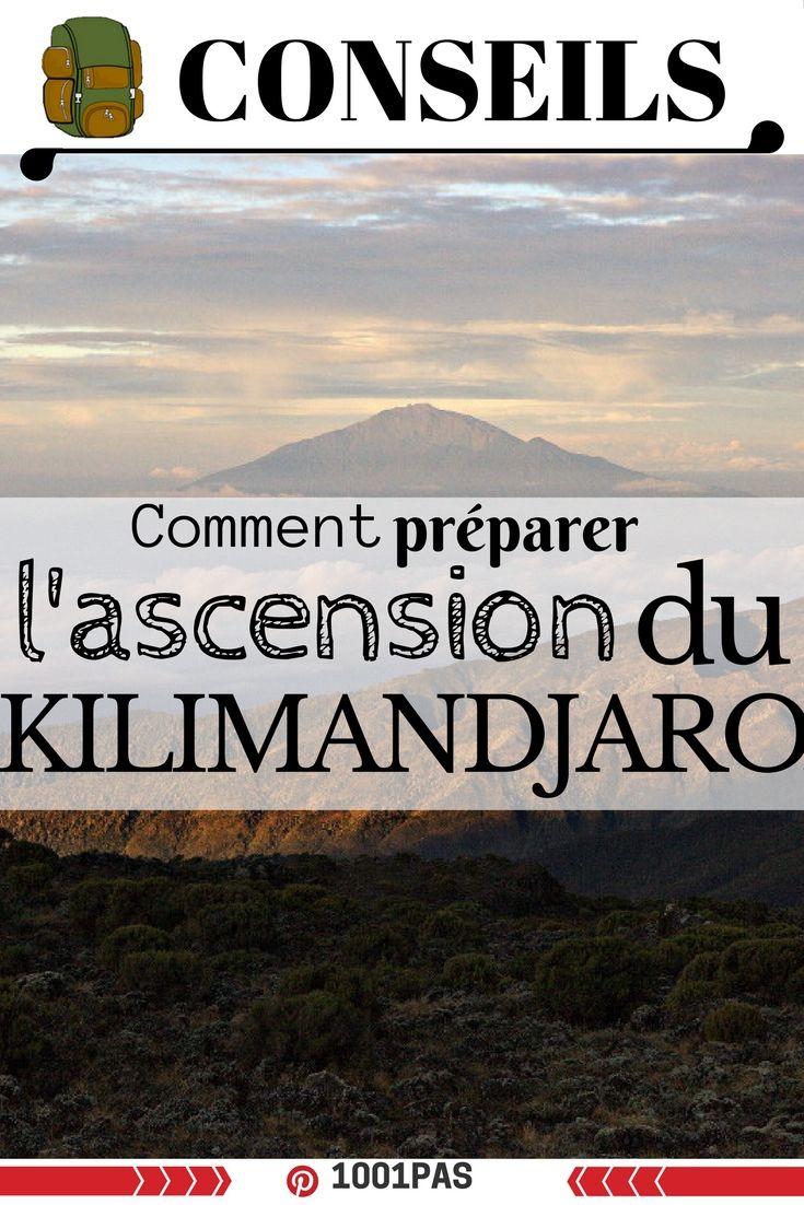 Conseils et informations pour se préparer à l'ascension du Kilimandjaro en Afrique  #trek #randonnée #kilimandjaro #afrique #trekAfrique
