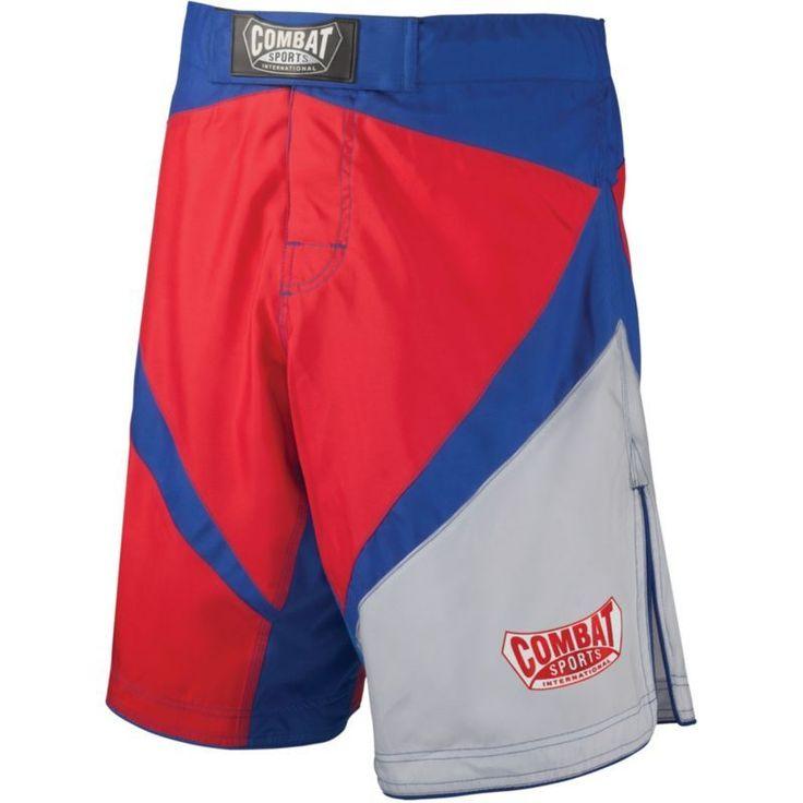 Combat Sports Fight MMA Boardshorts, Adult Unisex, Size: 36, Red