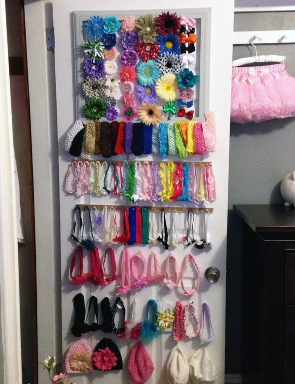 Holy Baby Hair Accessory Organization - Project Nursery