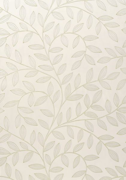 Havendale #wallpaper in #pearl from the Jubilee collection. #Thibaut