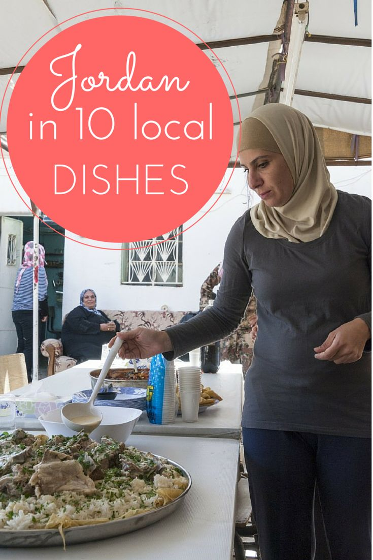 Jordan in 10 Local Dishes, from mansaf to sayadieh