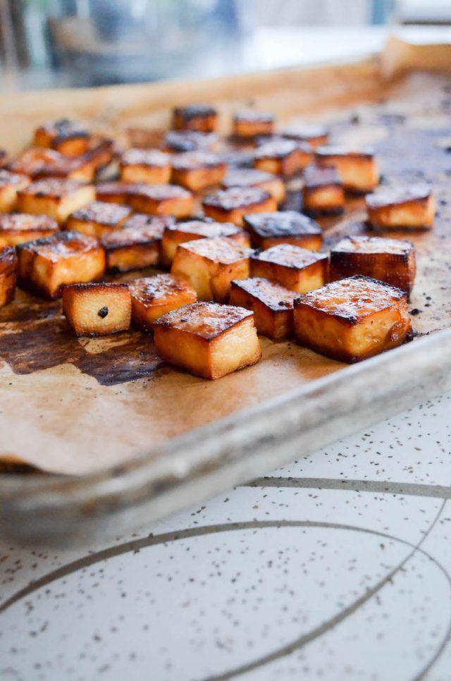 Crispy Roasted Tofu – In Jennie's Kitchen