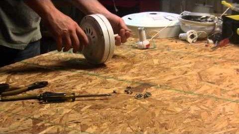 DIY Ceiling Fan Wind Turbine Tutorial!