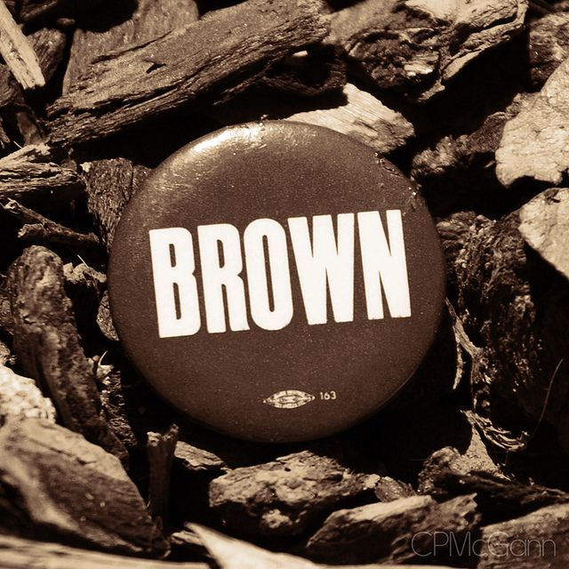 brown = solid, reliable, stability, genuineness, clean