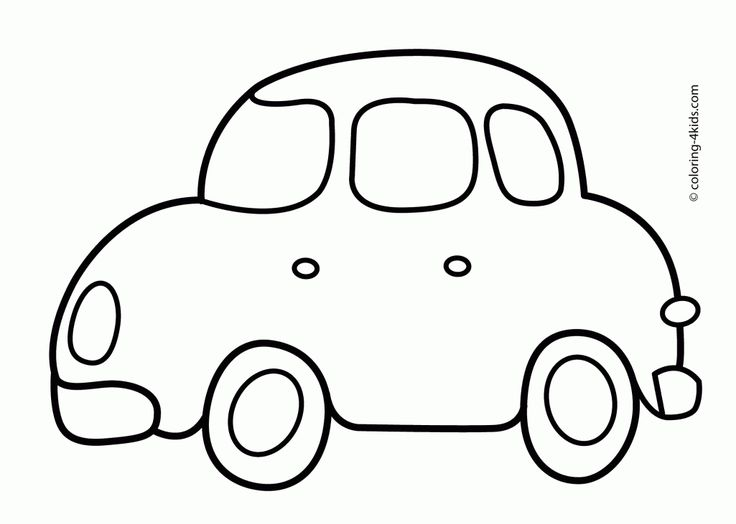 Simple Car Coloring Pages Free Online Printable Sheets For Kids Get The Latest Images Favorite