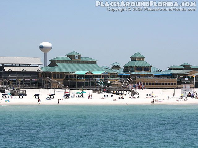Okaloosa Island Boardwalk at Fort Walton Beach Florida