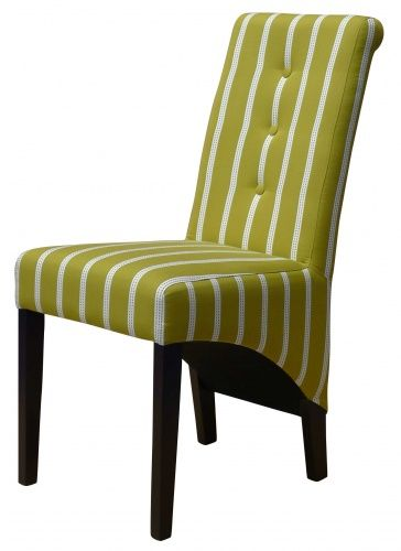We love this recent customer order! Our Venice Roll in Blendworth's Running Stitch 5! Such a lovely bright colour to add to your Dining Room! @blendworth1921  #chair #diningchair #blendworth #interiordesign