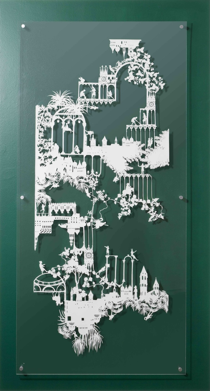 161 best paper art silhouette paper cutting images on for Beautiful paper cutting art