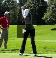Wow! - Michelle Wie Slow Motion Driver Swing LPGA Tour