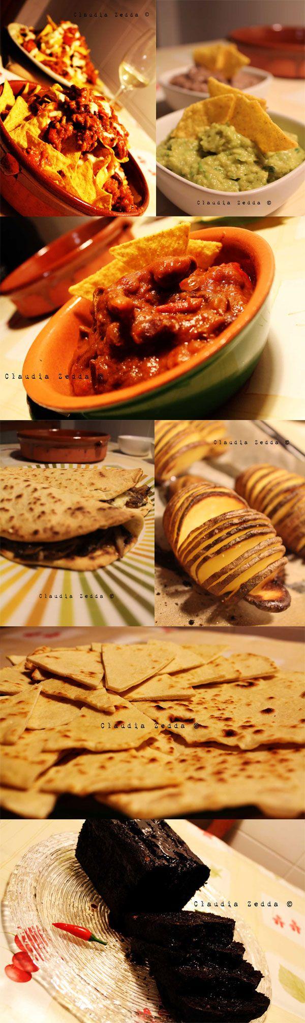 Il menù messicano