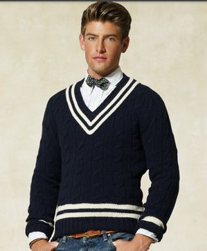 Cotton Cricket Sweater From Ralph Lauren £245