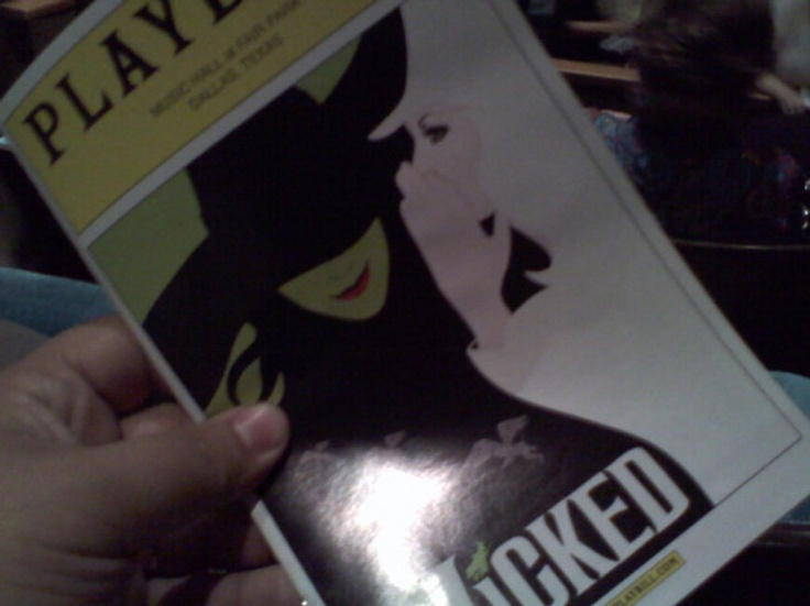 WICKED WAS WICKED LAST NIGHT!