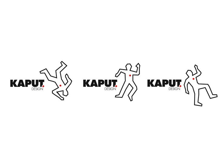 KaputDesign Business Cards! Designed by Two Yellow Feet advertising