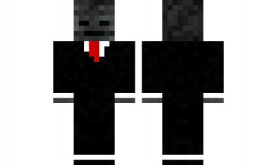 minecraft skin Wither-in-suit