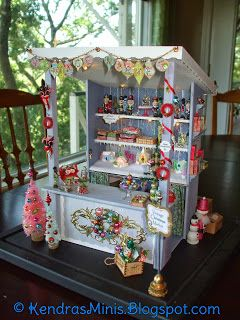 Kendra's Minis: Christmas Market Stall FINISHED!!