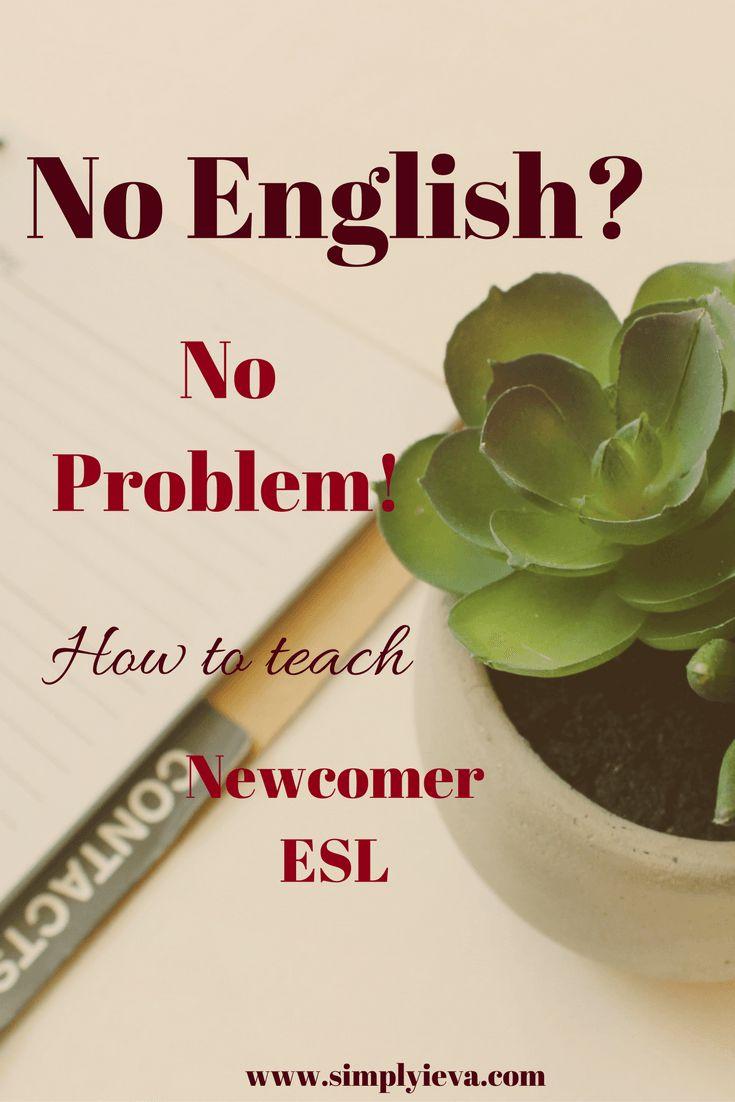 Newcomer ESL, ELL, EFL; ESL teaching; ESL teaching checklist; ESL beginner ideas