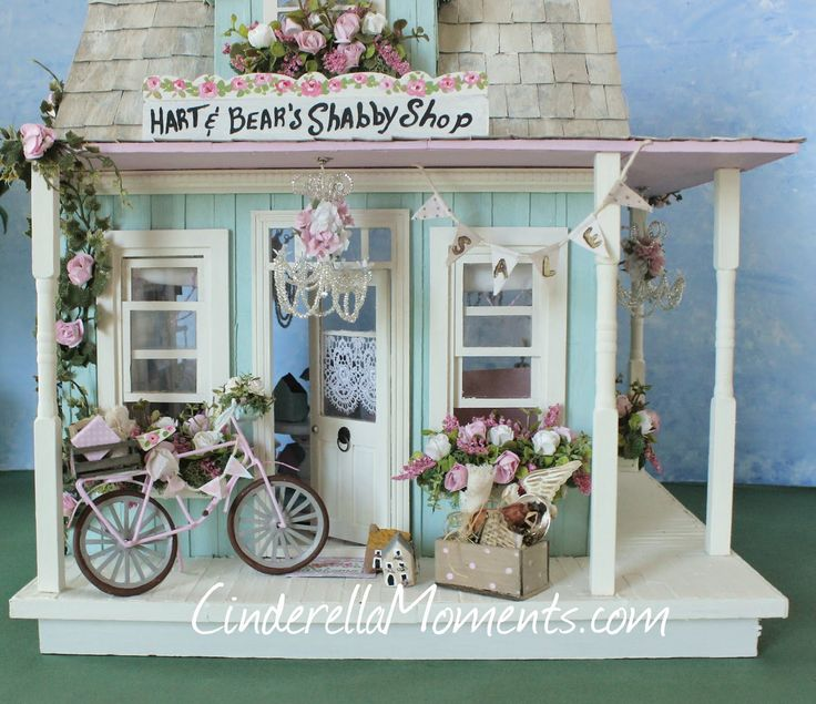 379 Best Images About Shabby Chic Minis On Pinterest