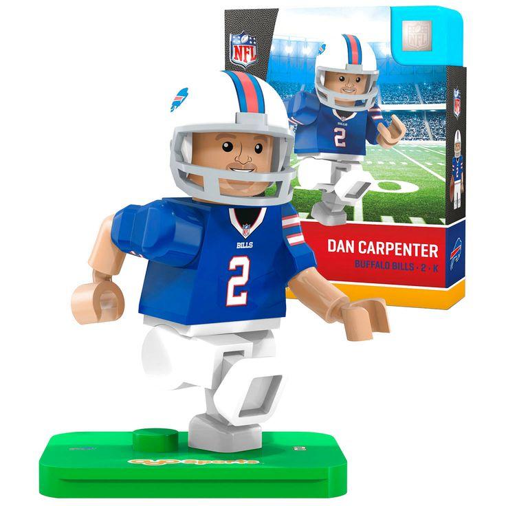 Dan Carpenter Buffalo Bills OYO Sports Generation 5 Player Minifigure - $10.39