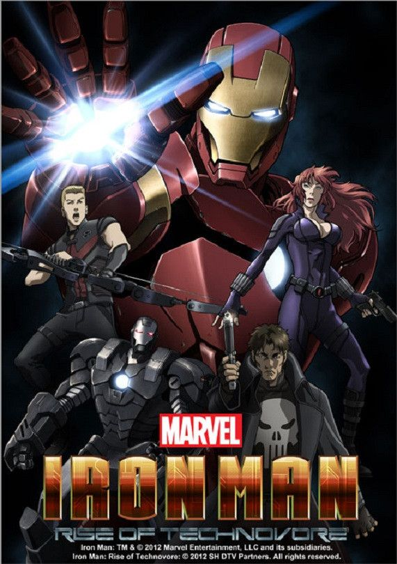 "Crunchyroll - VIDEO: Latest ""Iron Man: Rise of Technovore"" Anime OVA Trailer"