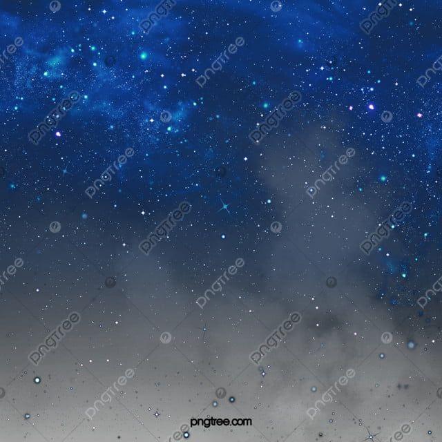 أزرق جميل نسيج السماء المرصعة بالنجوم عنصر المجرة المرسومة غامض الانحدار Png وملف Psd للتحميل مجانا Night Sky Stars Blue Sky Background Smoke Texture