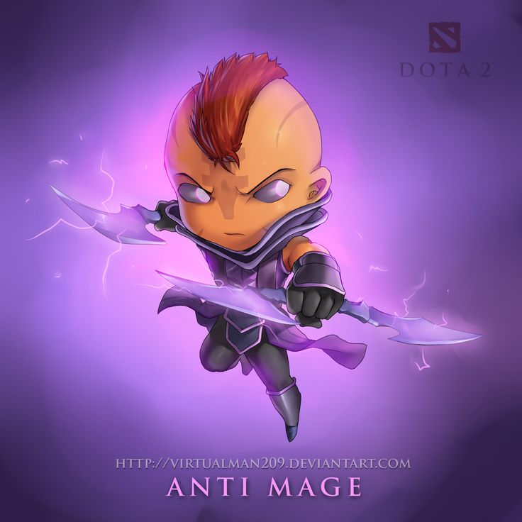 Chibi Magina Wallpaper, more: http://dota2walls.com/anti-mage/chibi-magina-wallpaper