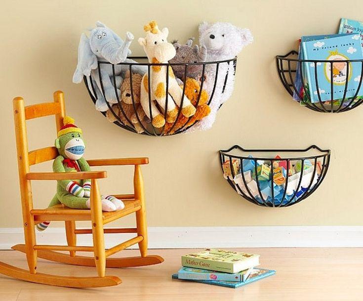 Ideas para organizar la habitación de los niños | Hacer bricolaje es facilisimo.com