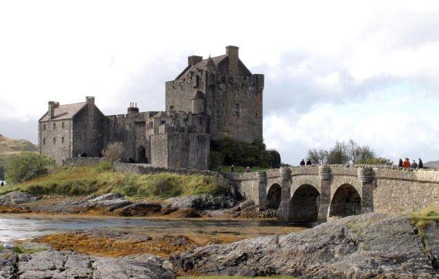 Eileann Donan Castle, Scotland.. Photo taken by Andrea Crossan