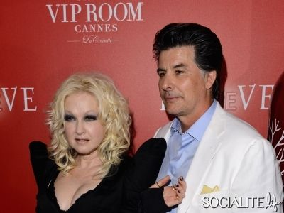 cyndi lauper + husband