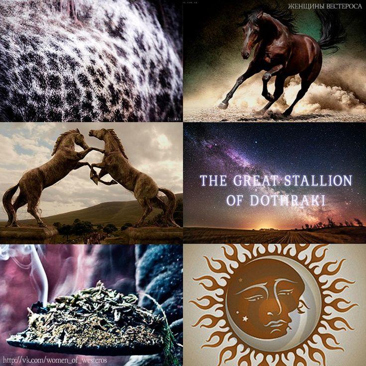 Great stallon of Dothraki (ASOIAF)