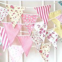 12 флагов красочные ткани флаги овсянка вымпел ну вечеринку украшения баннер рождество ну вечеринку поставки событий украшения