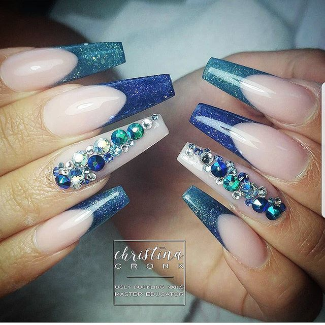 Beautiful nails done by @chrystacle chilly Duckling Educator using Ugly Duckling NEW Coloured acrylic #79 and #83 With FuFu Pink  Find us on Facebook- Ugly Duckling Nails  #uglyducklingnails #chrystacle #nails #nail #nails #nailsonfleek #nailso
