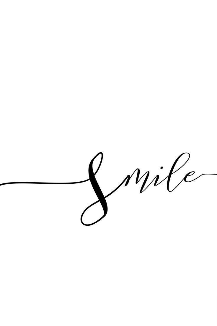 Lächeln Sie, Poster, Frau druckbare Geschenk, Schreibtisch Dekor Ideen, beste Freundin, modernistische Wandkunst, Geschenk-für-sie, online bedruckba