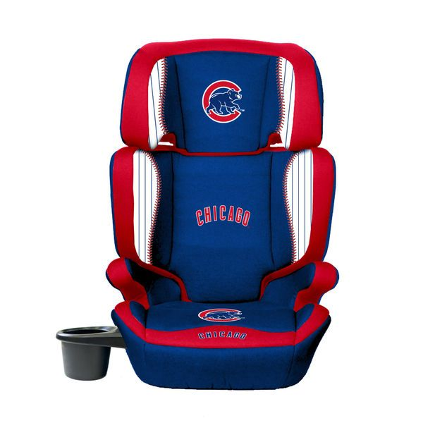 Chicago Cubs Lil Fan 2 In 1 Premium High Back Booster Seat
