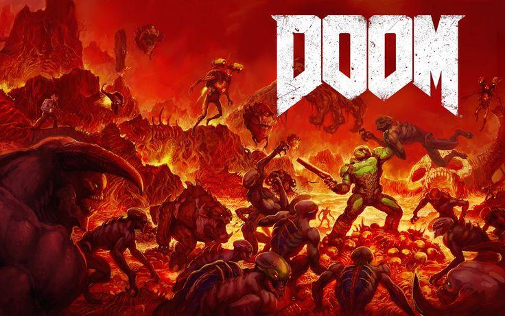 Free Doom (2016) Wallpaper in 1920x1200