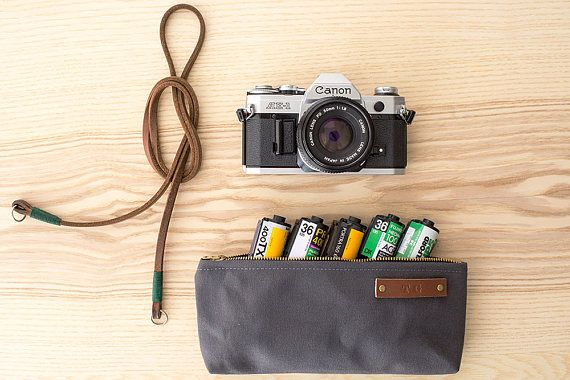 Modern Coup Stock Pouch Optional Personalization) - Charcoal Grey