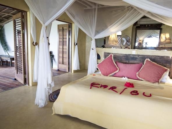 Matemwe Retreat in #Zanzibar - beach holiday #Romantic #Beds #weloveafrica #africa